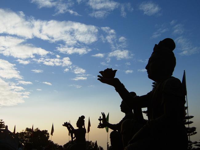 Монастырь По Лин -фото flickr.com