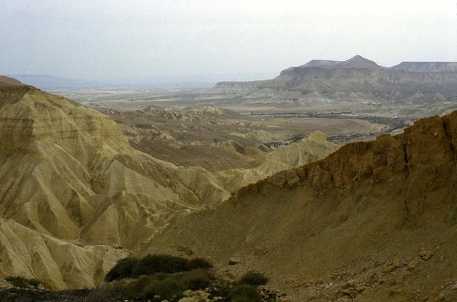 Израиль - пустыня Негев - фотографии