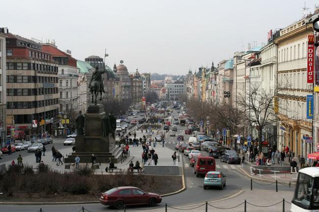 Вацлавская площадь - фото