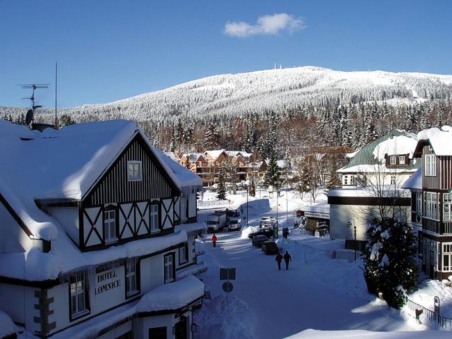 Шпиндлерув Млын - горнолыжный курорт Чехии
