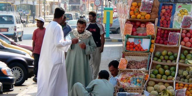 Уличные торговцы - Хургада
