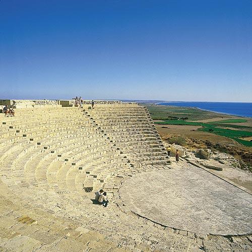 Фото города Куриум - когда-то был одним из самых могущественных городов-государств Кипра