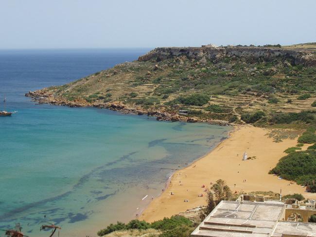 Мальта - Пляж Одисей - фото