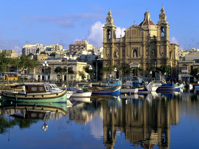 Гавань в Мсиде: Мальта