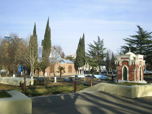 Город Гянджа - фото ru.wikipedia.org