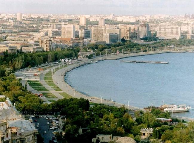 Набережная Баку - фото