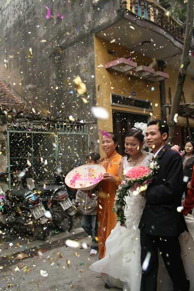 Жених и невеста - Вьетнам - фото
