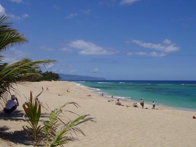 Гавайи пляж фото