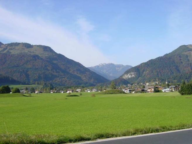 Вид на горы летом