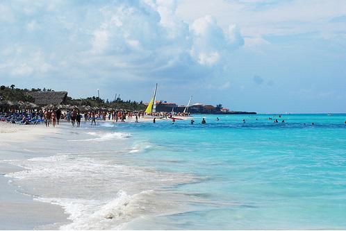 Пляж в Варадеро - фото