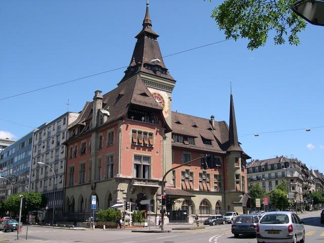 Женева - город Швейцарии - фото pfzema.cs.infn.it