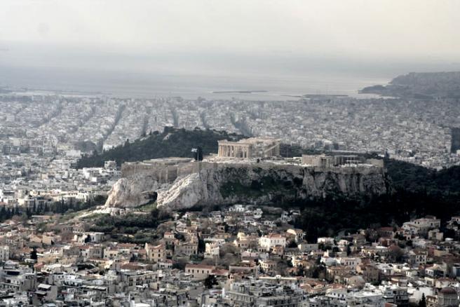 Афины, панорманое фото shitov.ru