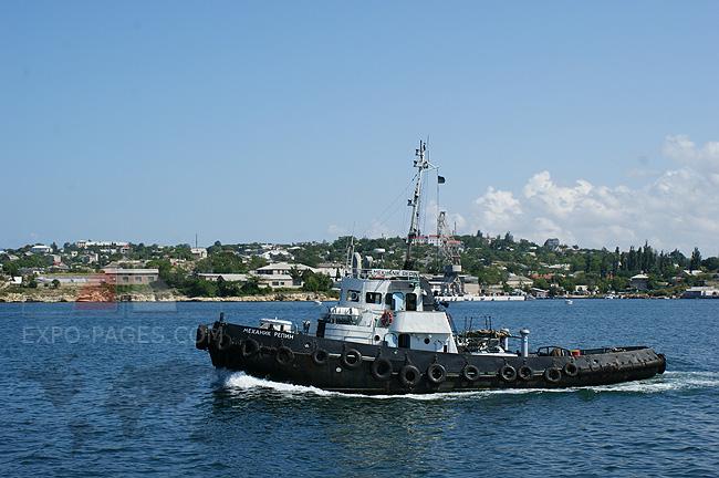 Корабли в Севастопольской бухте - фото
