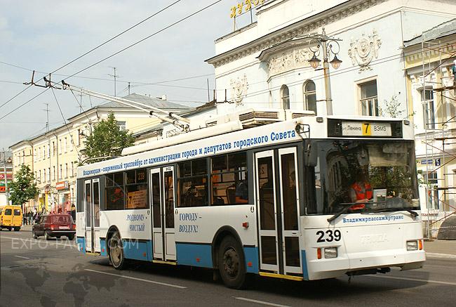 Автобусы, троллейбусы - Владимир