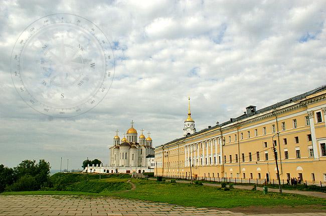 Владимир - Успенский собор и палаты