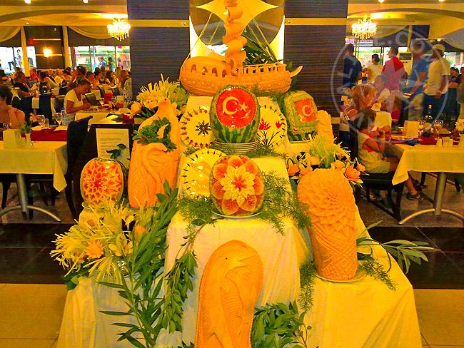 Блюда местной кухни турецкой