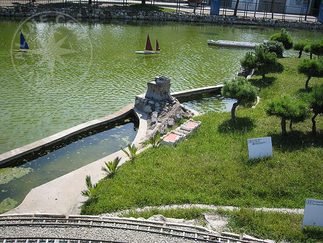 Парк Мини-Италия в Римини