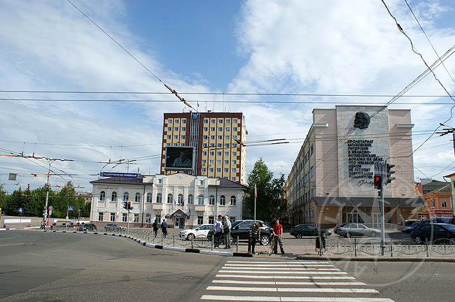 Центральная площадь Иваново