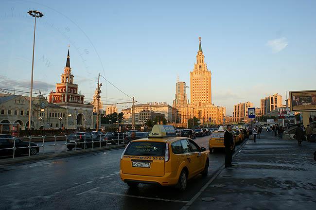 Вокзалы в Москве - Казанский вокзал