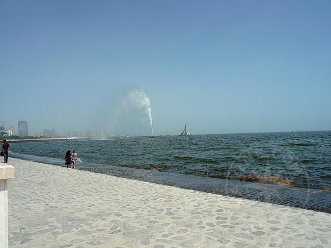 Набережная Баку - Каспийское море