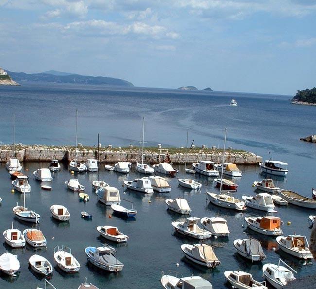 Море в Хорватии очень чистое