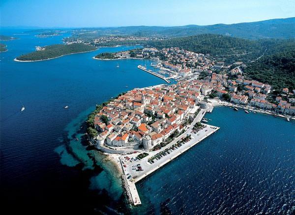 Фотографии острова Корчула в Хорватии