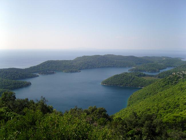 Фотографии острова Млет Хорватии