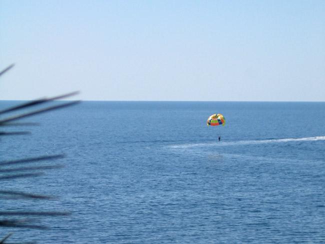 Вид на море в Алуште. Рай :)