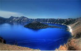 Индонезия: остров Флорес: кратер вулкана - озеро