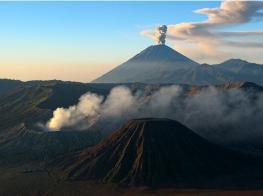 Индонезия: вулкан Бромо