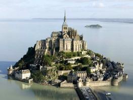 Мон Сен-Мишель - остров Нормандии