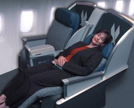 салон самолета - фото