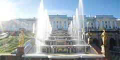 Петергофские фонтаны – популярнейшая достопримечательность Петербурга. // peterhofmuseum.ru