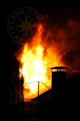 Пожар в Дельфине - Алушта