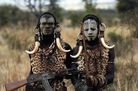 Современные охотники Африки