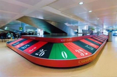 """Кто часто путешествует, поймет :) ... """"Получене багажа в аэропорту - как игра в рулетку"""""""