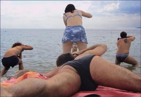 Охота на нудистов в Крыму