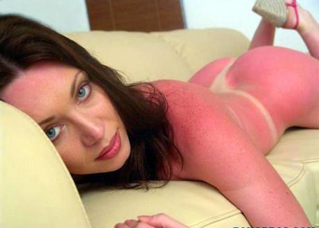 Нехило загорела :)