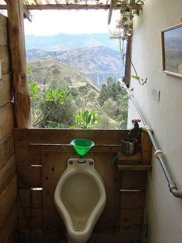 А вы хотите такой туалет в номере ? :)