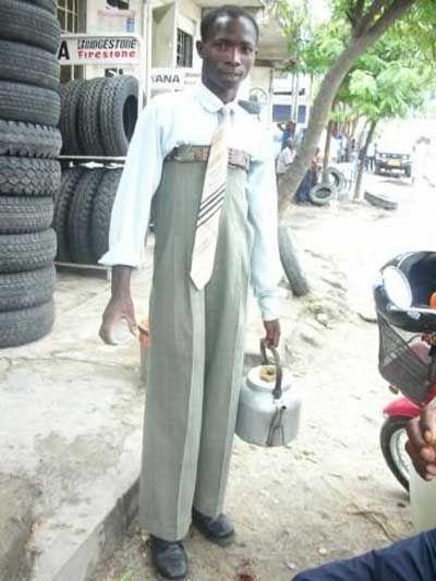 Модные африканские парни :)