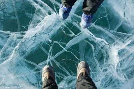Прогулки по льду...