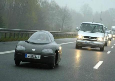 Вот такие машины можно встретить в Германии :)