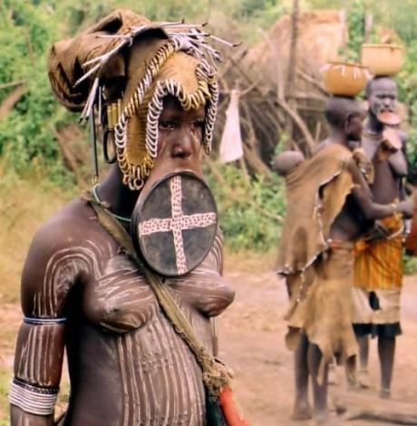 Их нравы ... немного об Африке