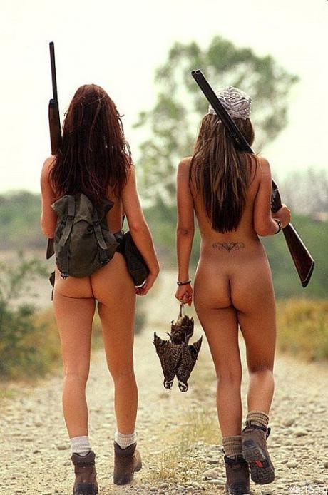 Охотницы - амазонки :)