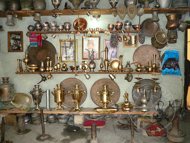 Медные и металлические изделия, посуда