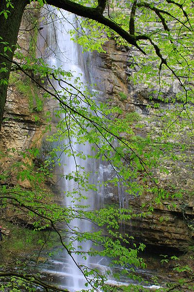 Талышские горы - водопад