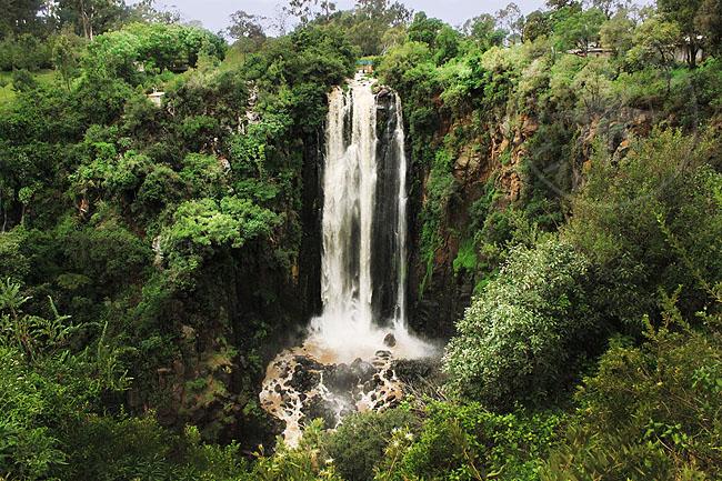 Водопад Томпсона - Кения - самый большой водопад Восточной Африки и один из самых больших в Африке - Водопад Томпсона