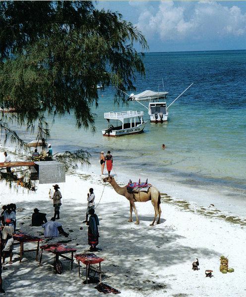 Момбаса - В прибрежной части города