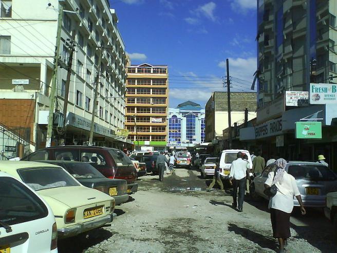 Город Накуру - фото - Кения