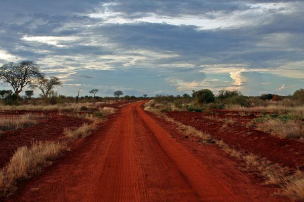 Красная дорога - парк Тсаво